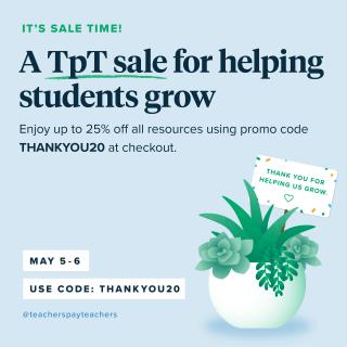 Teachers Pay Teachers Sitewide Sale Deals Teaching Our Kids
